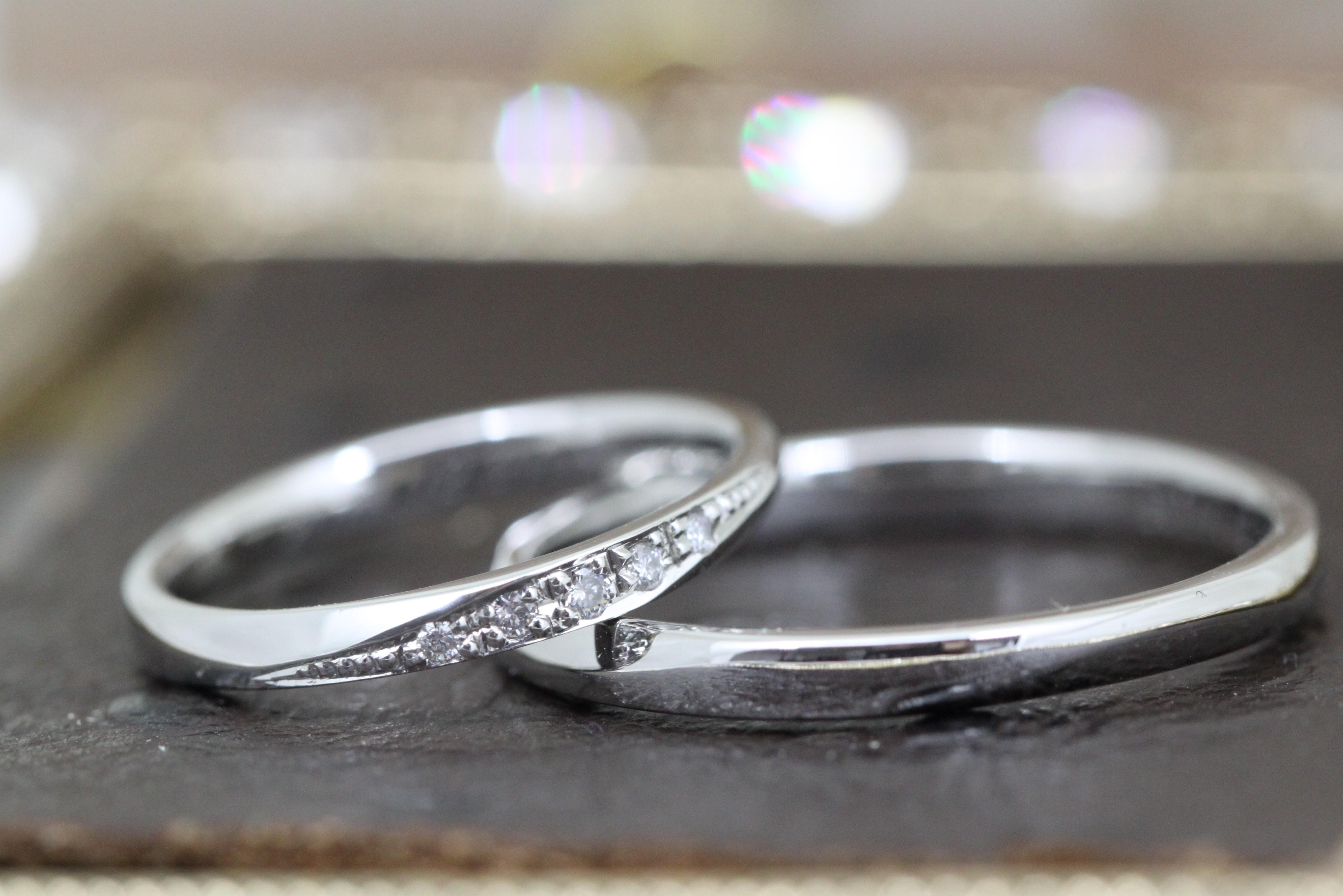 結婚指輪を手作り 大阪(関西)のお客様 | 関西/神戸・大阪で結婚指輪、婚約指輪、遺骨リング、遺骨ペンダントを手作りとオーダーメイドが出来るアトリエ